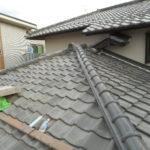 I様邸 屋根改修工事 漆喰・棟瓦積み替え