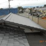 O様邸 屋根葺き替え 平板瓦